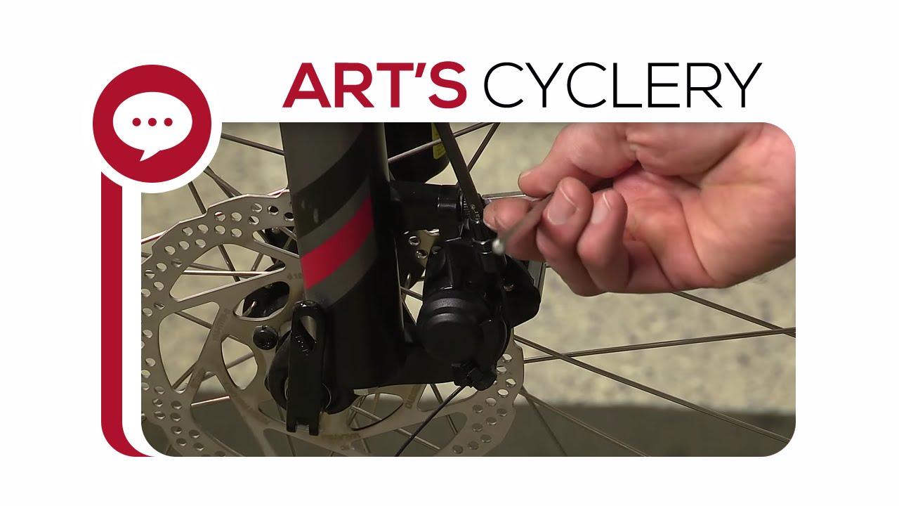 a09b2defa55 Ask A Mechanic  How to Set Up Mechanical Disc Brakes - YouTube