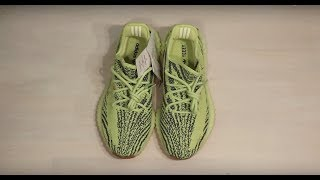 UNBOXING SEMI-FROZEN YELLOW YEEZY - SOFIA SUSANNE