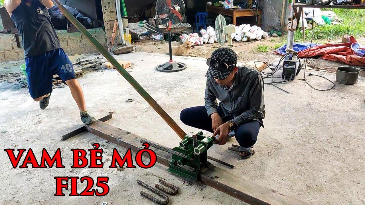 Bàn vam bẻ mỏ sắt cây fi25 thủ công trong xây dựng tốt nhất   THIẾT BỊ CÔNG TRÌNH