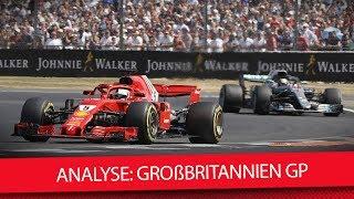 Wurde Hamilton absichtlich abgeschossen? - Formel 1 Silverstone 2018 (Analyse)