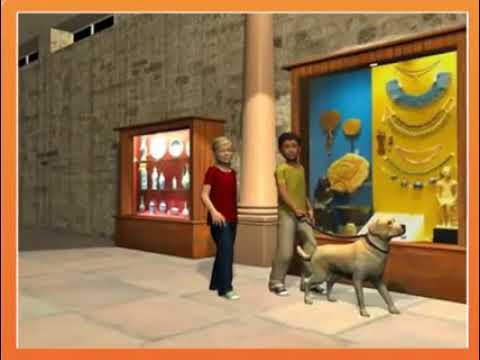 story-english-super-mind-lv.-4-in-the-museum
