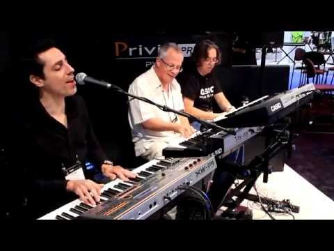 Casio at NAMM: Steppin' Out with Tom Brislin
