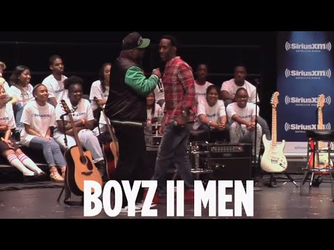 "Boyz II Men ""Losing Sleep"" // SiriusXM // Heart & Soul"