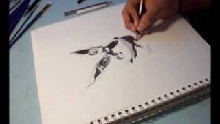 How to draw .. How to draw a sexy playboy tattoo