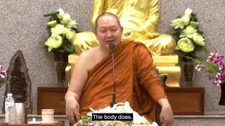 Dhamma Talk by Luangpor Pramote: Awareness Throughout the Day