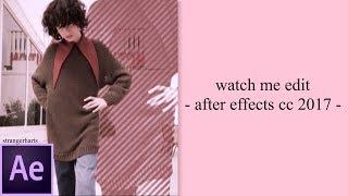 Video WATCH ME EDIT! (after effects) download MP3, 3GP, MP4, WEBM, AVI, FLV Oktober 2018