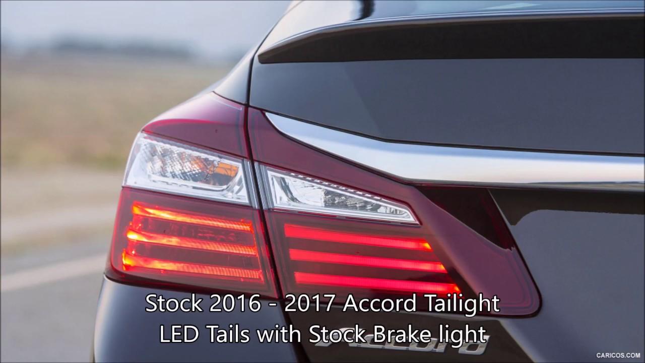 2013  2017 Honda Accord OEM Taillight Conversion Wire