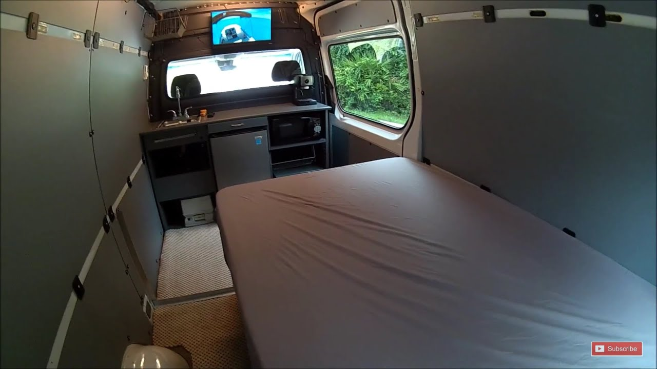 Mercedes Sprinter Bed DIY Custom Rv Conversion