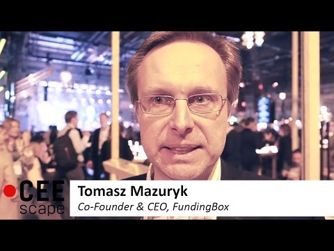 Get ready for EU funding! Chat with FundingBox CEO Tomasz Mazuryk :: CEEscape.tv