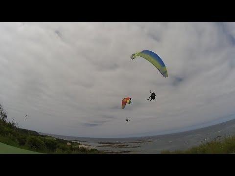 171127 Paragliding Flinders Golf Course Victoria Australia