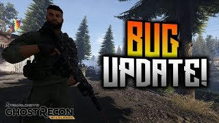 Ghost Recon Wildlands - Bug Update! LVOA Magazine Bug And Attachments Unlock Bug