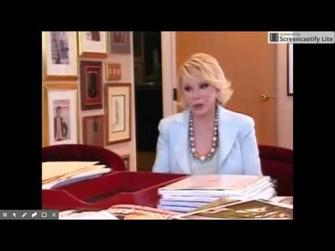 President Donald Trump with Joan Rivers   2010 Part One