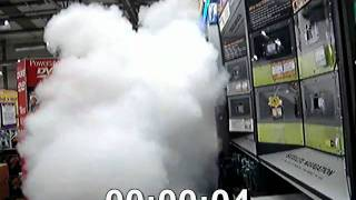 Fog Bandit - security fog NOT security smoke - Best Retail Store Protection