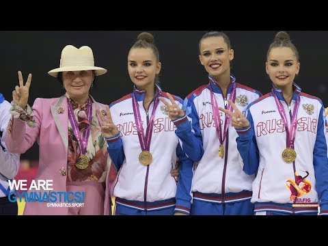 2019 Rhythmic Worlds, Baku (AZE) – Gold for Team Russia - We are Gymnastics !