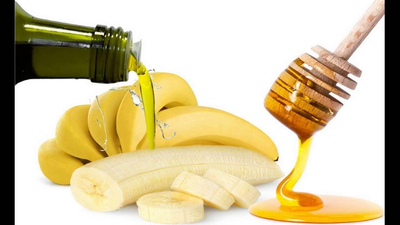 Recipe: Banana Olive Oil Mask for Damaged Hair foto