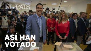 Así han votado los CANDIDATOS en la JORNADA ELECTORAL | ELECCIONES 28-A