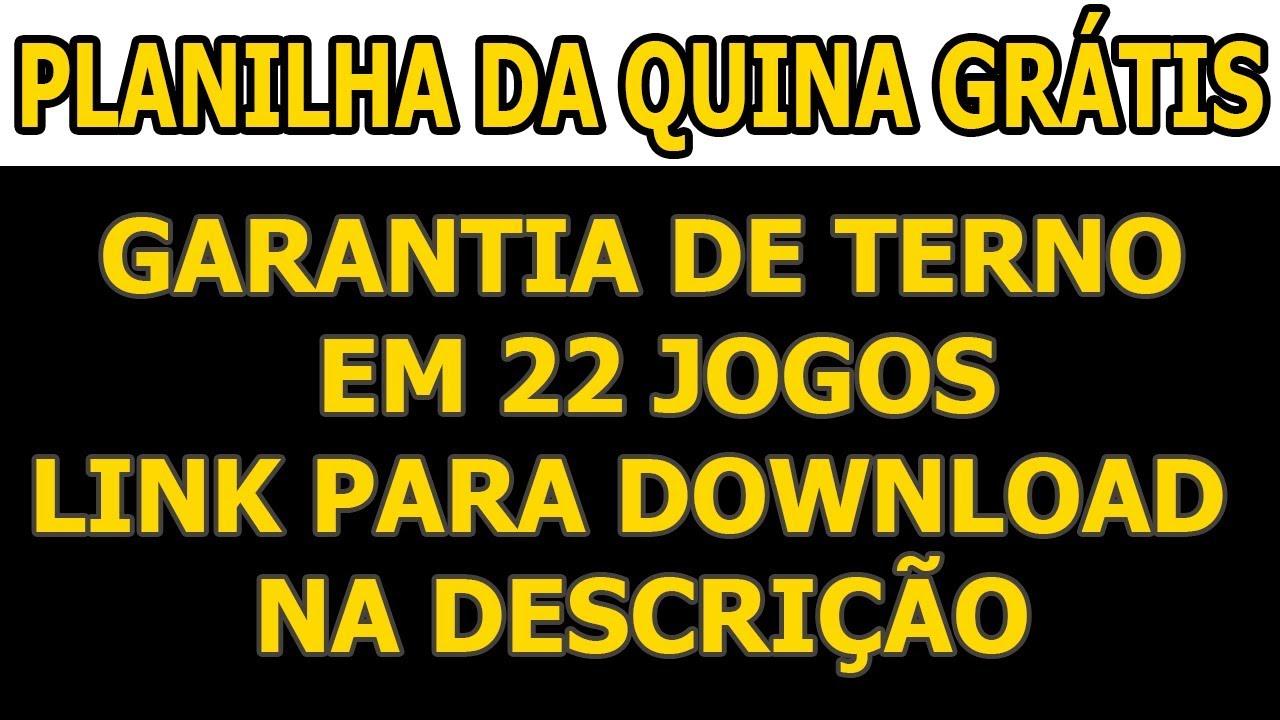 QUINA DESDOBRAMENTO BAIXAR DA