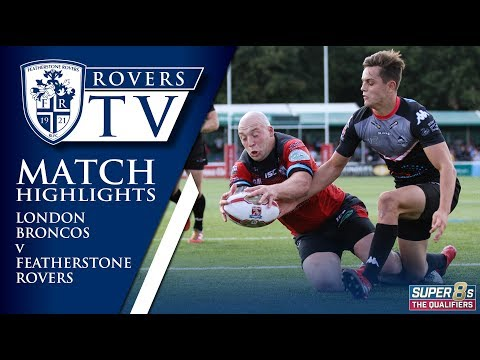 MATCH HIGHLIGHTS: London Broncos 32-32 Featherstone Rovers