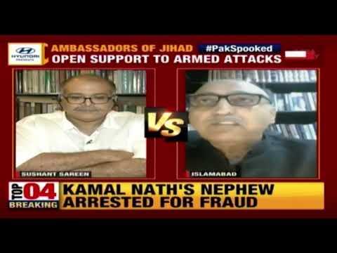 Ex India, Pak Envoys Debate Over Pak Diplomats Inciting Jihad   Newstrack With Rahul Kanwal