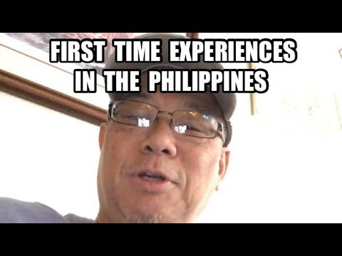 Some First Time Philippines Experiences in Angeles City & Manila