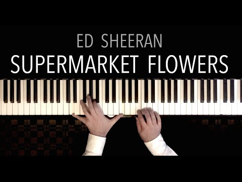 Ed Sheeran - Supermarket Flowers featuring Schubert's 'Ave Maria' | Paul Hankinson Piano Cover