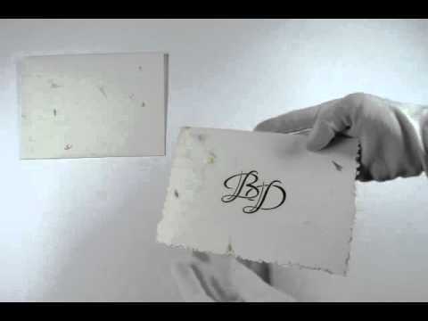 D-3462, White Color, Handmade Paper, Designer Multifaith Invitations, Deckle Edge Cards