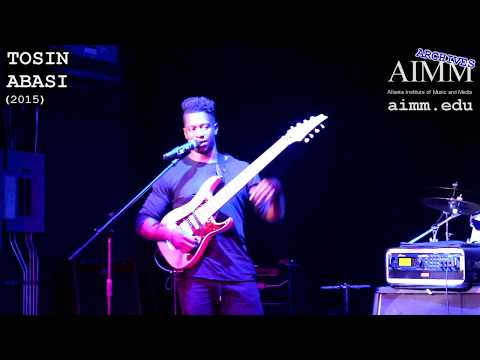 AIMM Archives - Tosin Abasi (2015)