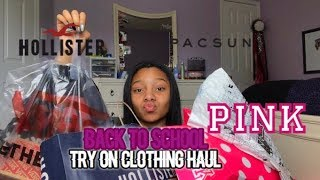 BACK TO SCHOOL TRY ON CLOTHING HAUL 2018!