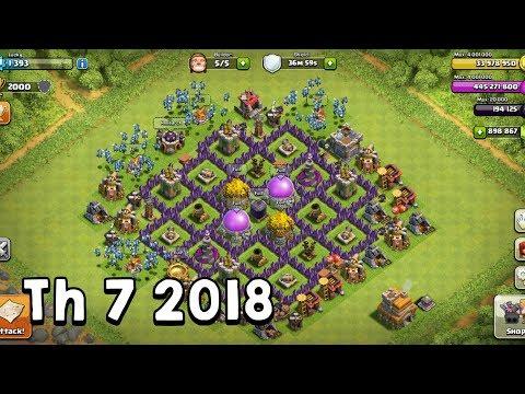 Base Th 7 Terbaik dan Terkuat 2018