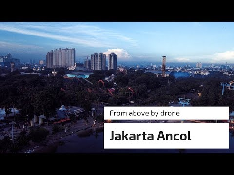 Jakarta Ancol Waterfront from above