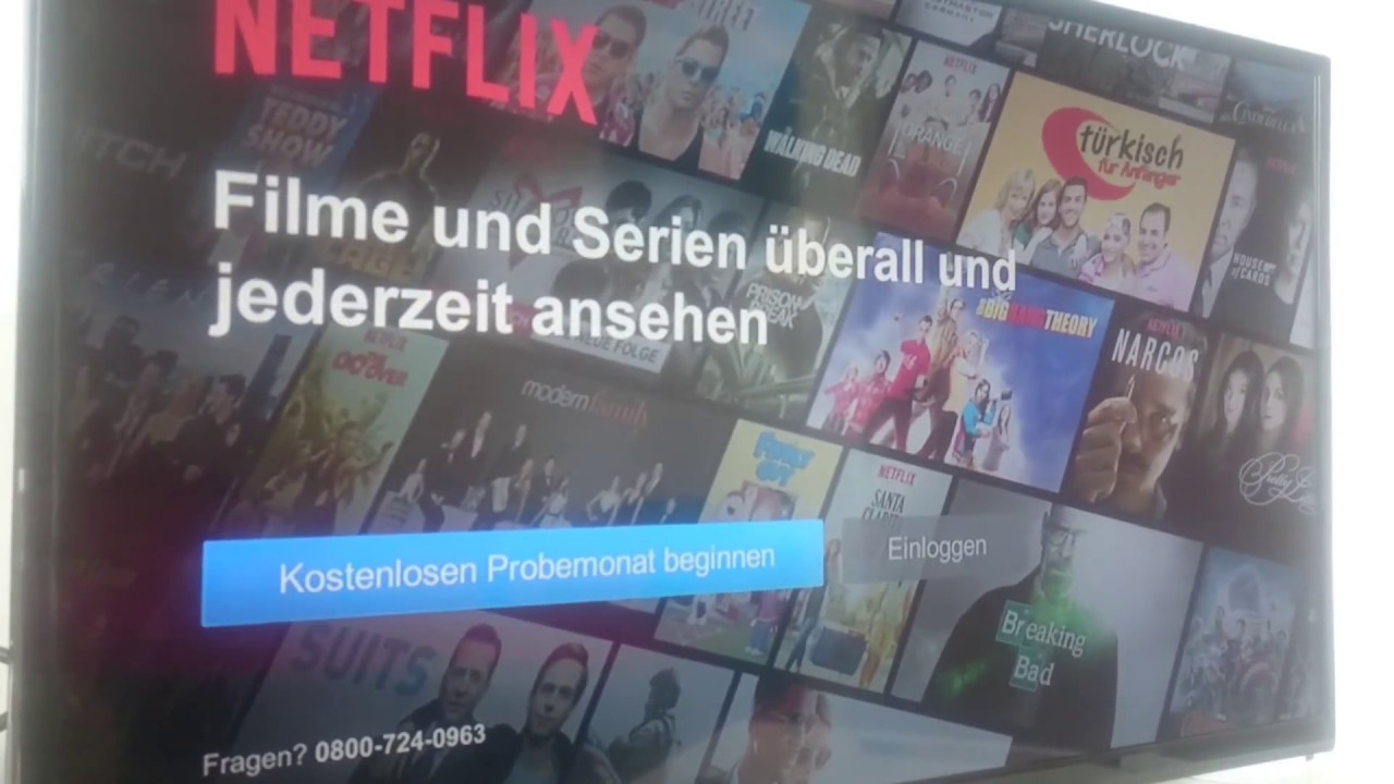 Netflix Installieren