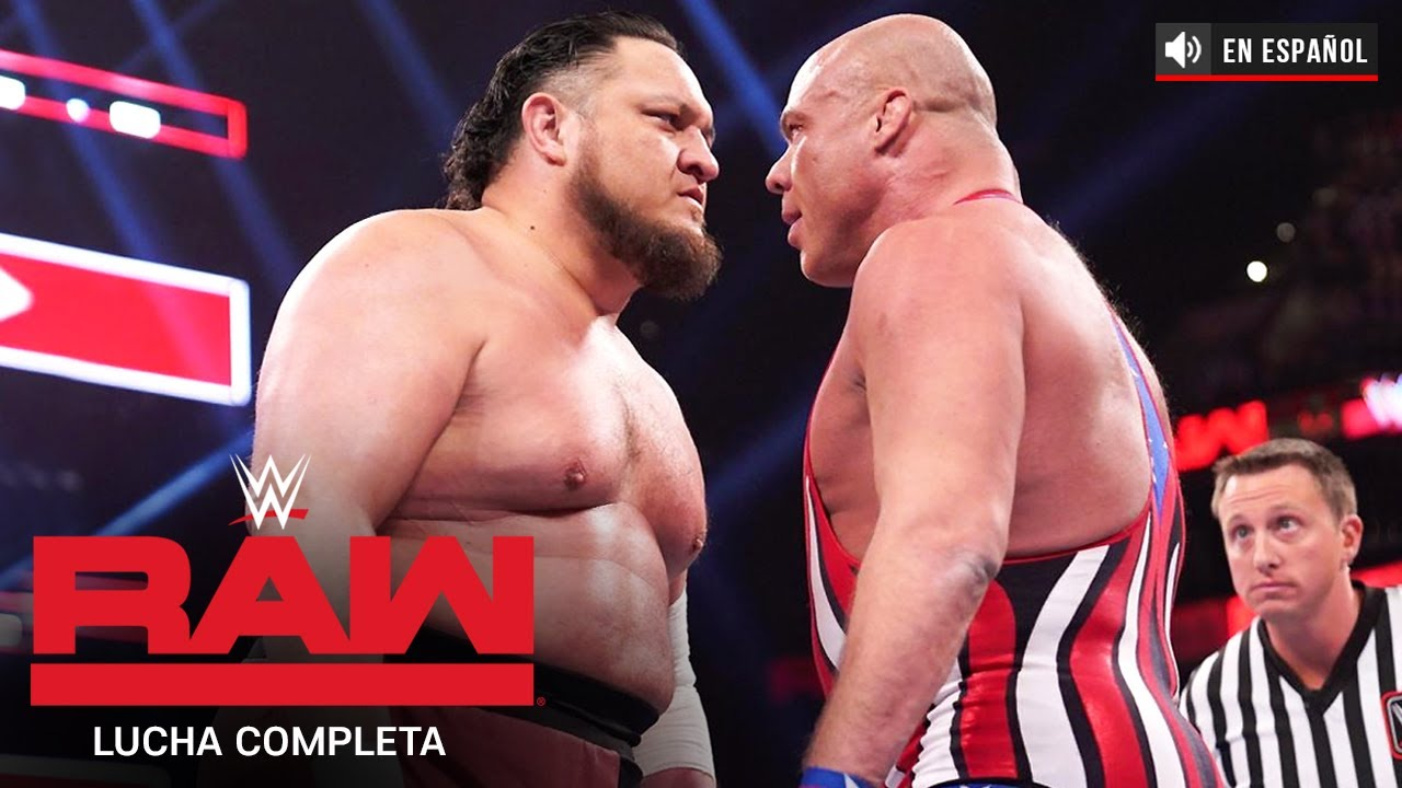 Download LUCHA COMPLETA: Kurt Angle vs. Samoa Joe: Raw, Mar. 25, 2019: Español