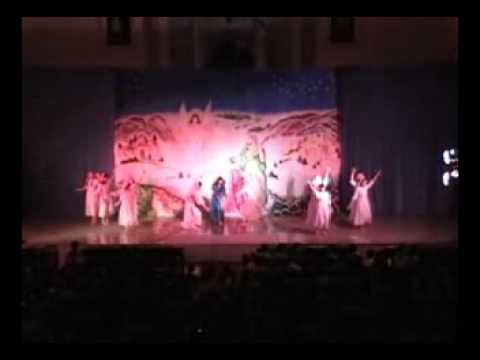 Hoạt cảnh giáng sinh 2010 Múa Bài Ca Truyền Tin & Mừng Khen Giavê