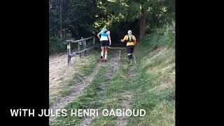 Just for fun. A little video of Jules Henri Gabioud's trail running tips