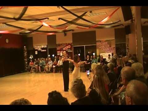 Kristen Tucker dancing with Tim Interpretive