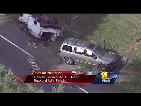 Video: Police investigate fatal crash in Fallston
