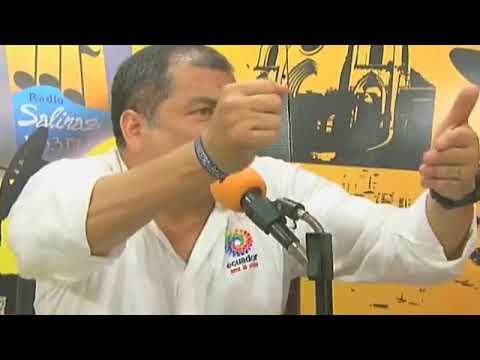Rafael Correa. Entrevista con Radio Salinas 103.3 FM