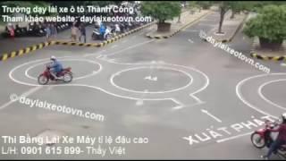 Thi Bằng Lái Xe Máy A1 Đậu 100% Cảm Ứng Tại TPHCM