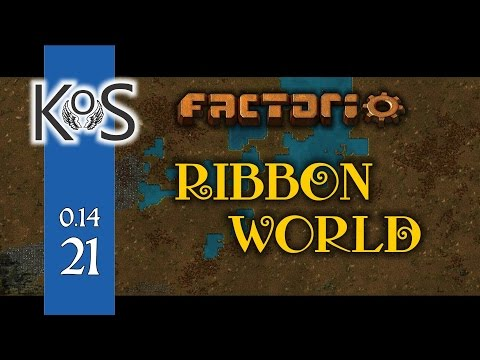 Factorio 0.14 Ribbon World - Ep 21 - Coal & Solar - Let's Play