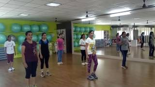 Aerobics for Beginners Lesson 1