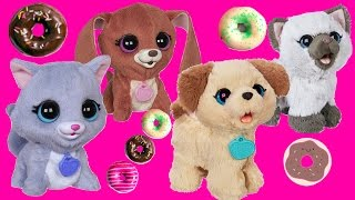 Pax My Poopin Pup and FURREAL Pet Toys go to DONUT SHOP!