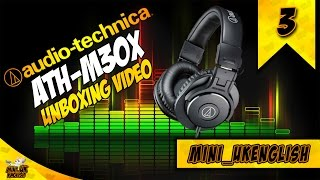 audio technica ath m30x unboxing and plus giveaway