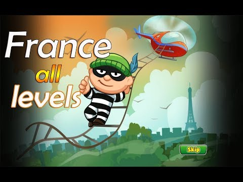 BOB The Robber 4 - Gameplay Walkthrough part 3 - France all levels (iOS, Android)