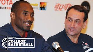 Coach K: Kobe Bryant was my leader for Team USA | College Basketball on ESPN