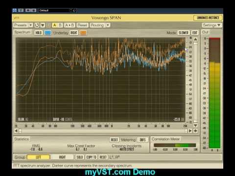 myVST Demo: Span 2.0
