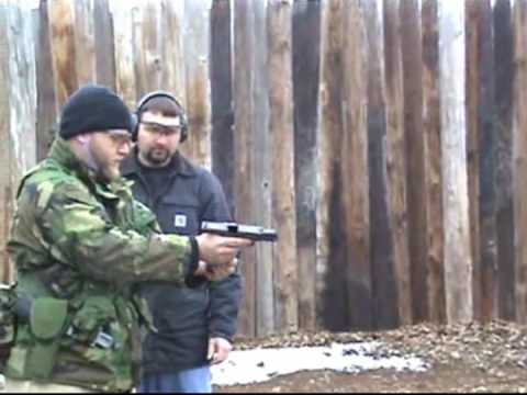 Glock 21 Buried 2 years then 500rd test fire
