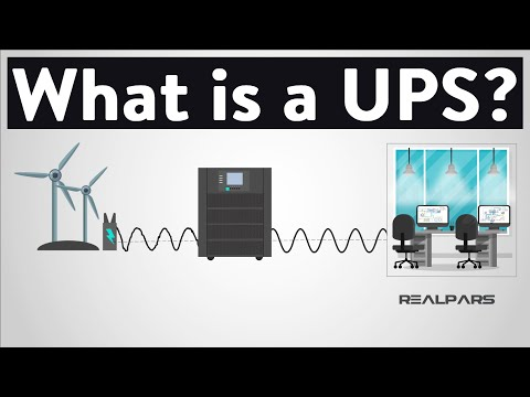 What is a UPS? (Uninterruptible Power Supply)
