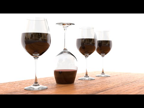 Blender Tutorial: Creating a glass of wine