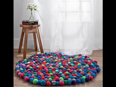 Khéo tay học cách làm thảm len ấm áp cho cả nhà