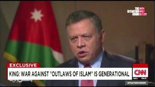 ملك الأردن: الحرب على الخوارج حرب عالمية ثالث